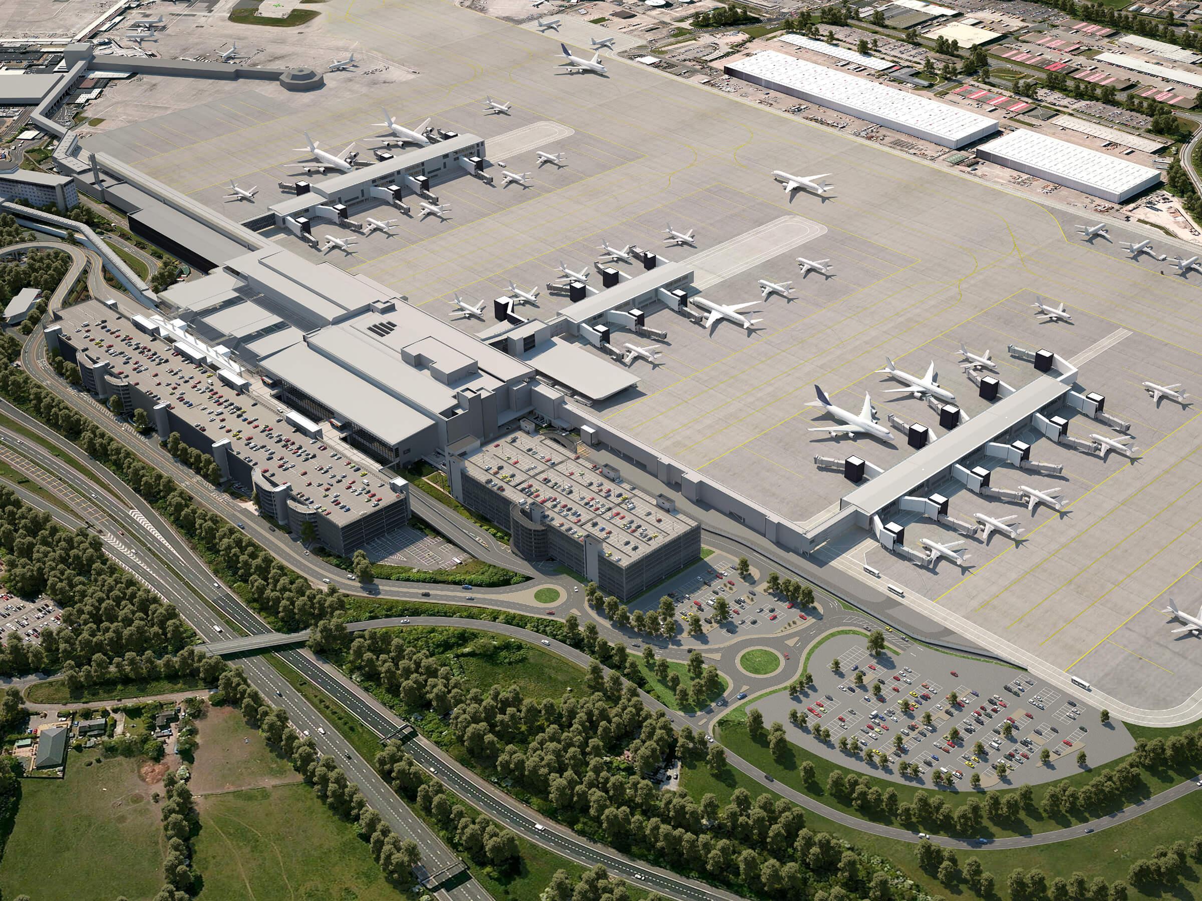 Manchester Airport, Transformation Programme • Aviation • Work •  Pascall+Watson